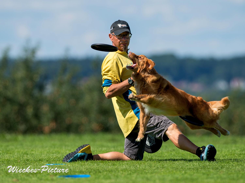 Dogfrisbee Sandro Eigenmann