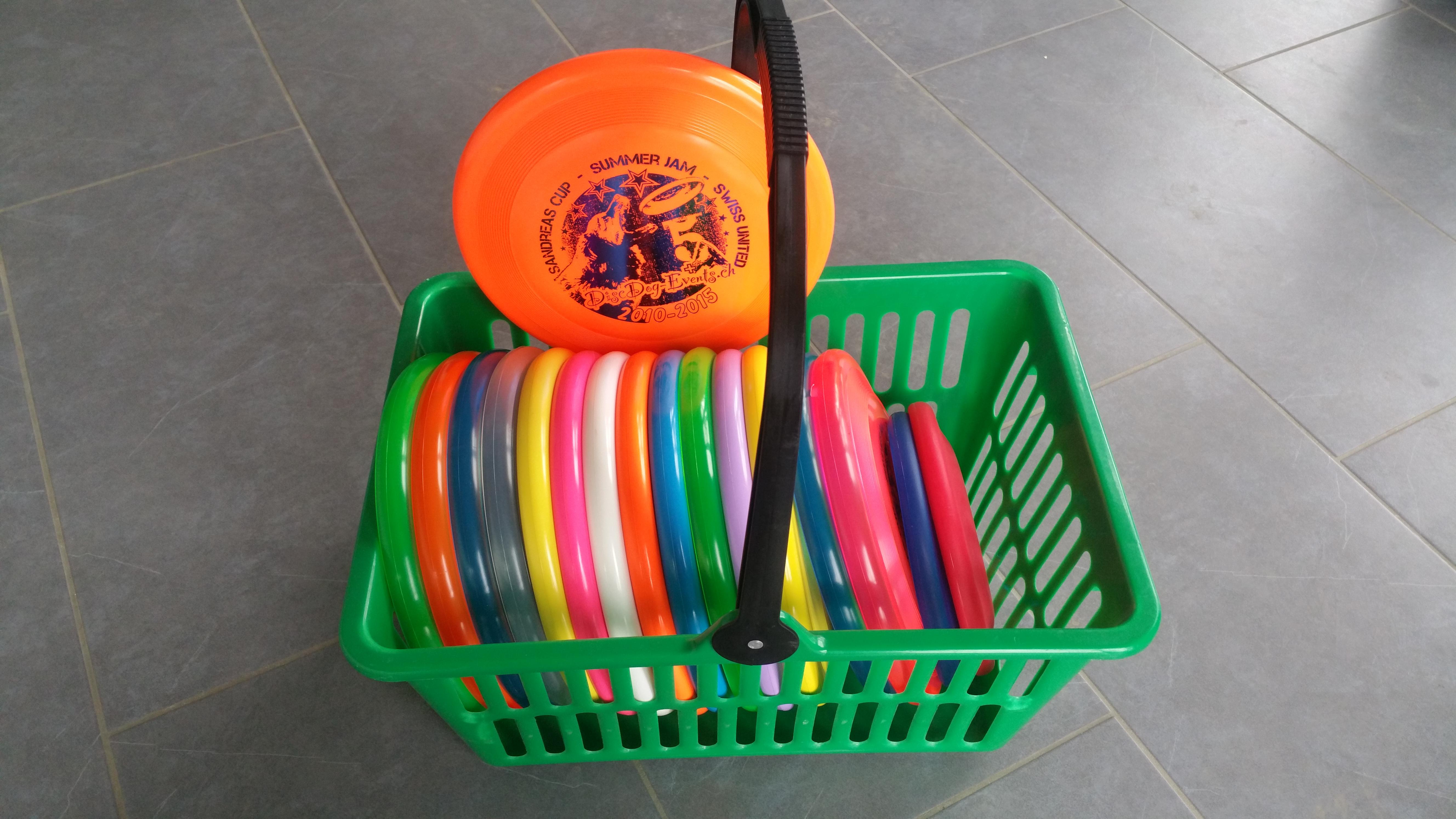 Frisbee zum Ausprobieren
