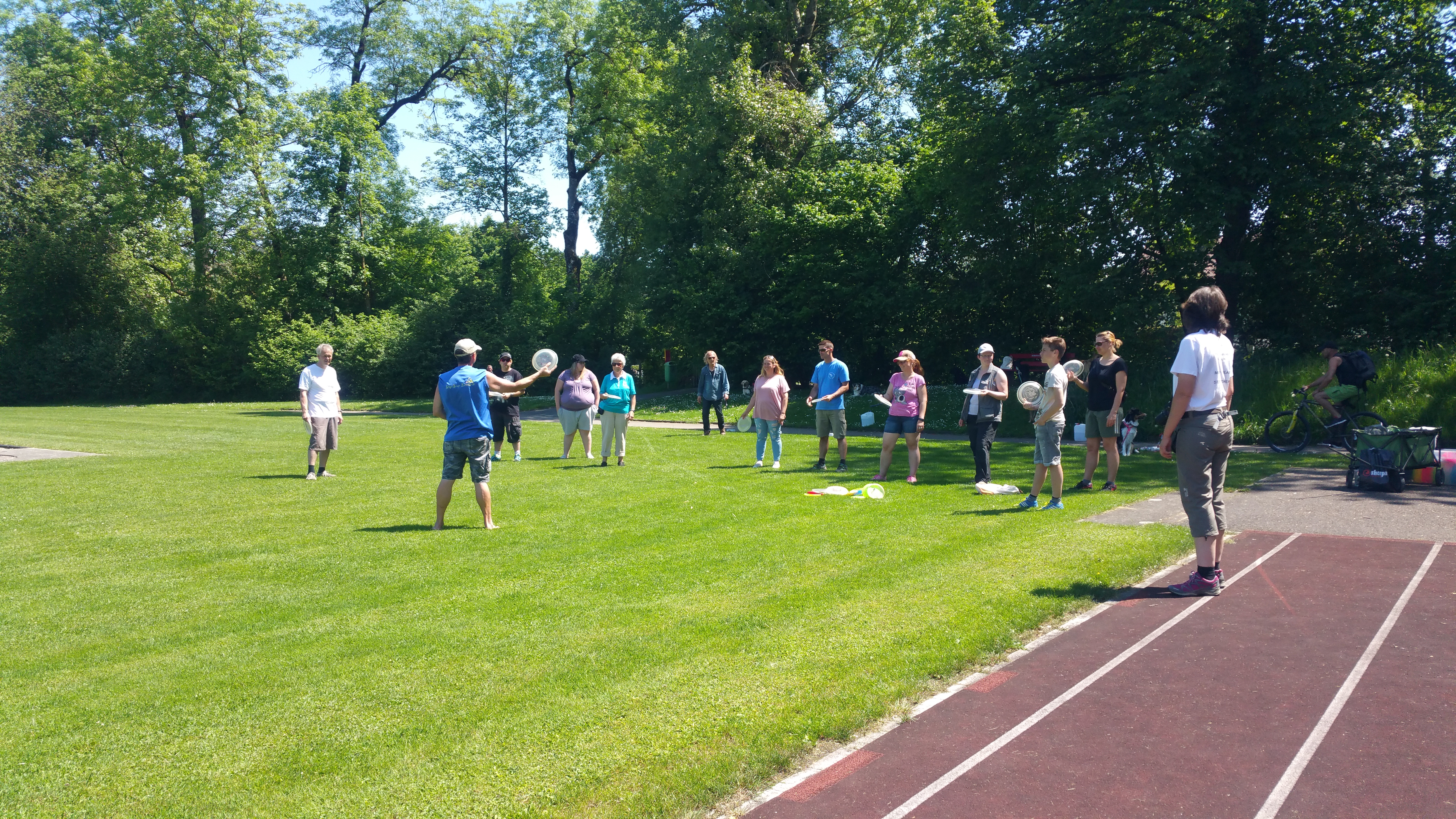 Hundefrisbee-Workshop